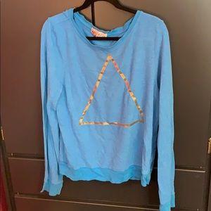 Wildfox Blue w/ Gold Triangle